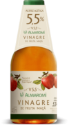 Vinagre de maçã v 5.5 400ml - Almaromi Viccino - unidade