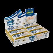 Barra de proteína whey grego bar sabor beijinho - Nutrata - cx c/ 12 un.