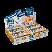 Barra de proteína whey grego bar sabor doce de leite - Nutrata - cx c/ 12 un.