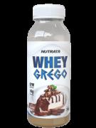 Whey grego sabor cheesecake de chocolate monodose 30 g - Nutrata - 01 un