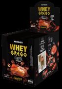 Whey grego coffee cream sabor caramelo sachê - Nutrata - 01 cx c/ 12 sachês
