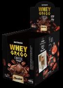 Whey grego coffee cream sabor chocolate sachê - Nutrata - 01 cx c/ 12 sachês