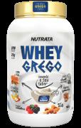 Whey grego sabor iogurte natural 900 g - Nutrata - 01 un