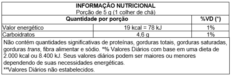 Açúcar mascavo integral - Vitao - 01 un