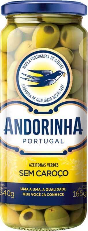 Azeitona verde s/ caroço - Andorinha - 01 un
