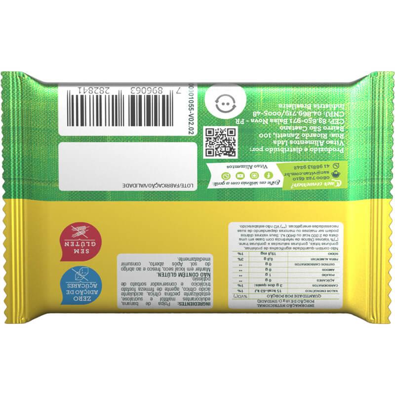 Tablete de bananada zero 18g - Vitao - 01 un
