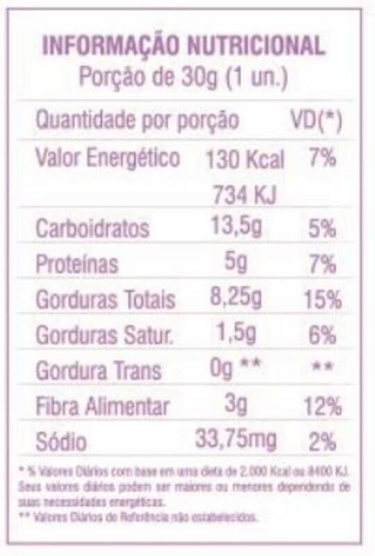 Barra de nuts sabor cranberry 30g - flowbar - cx c/ 12 un.