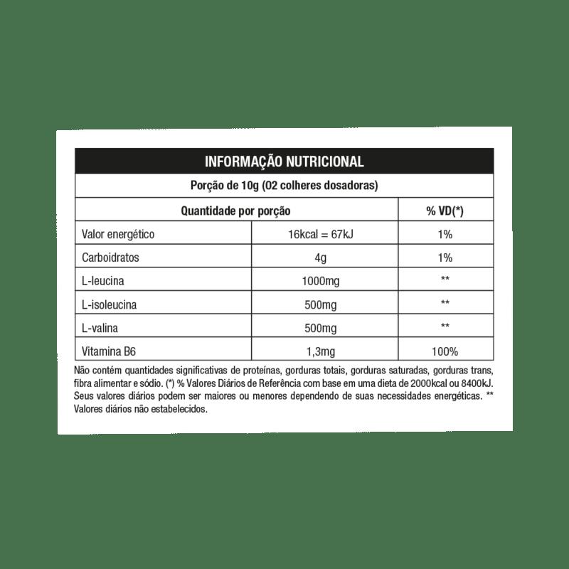 Bcaa 2.1.1 sabor laranja 200 g linha star - Nutrata - 01 un