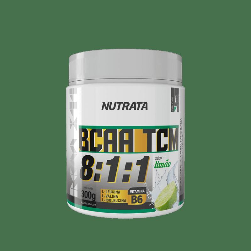 Bcaa 8:1:1 c/ tcm sabor limão 300 g - Nutrata