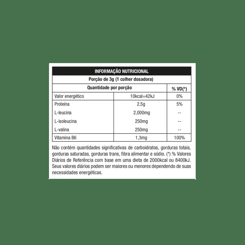 Bcaa 8:1:1 c/ tcm natural 300 g - Nutrata