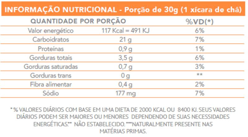 Biscoito parô tomate e manjericão - Flormel - 01 un