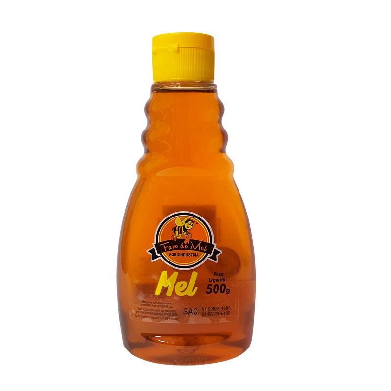 Bisnaga de mel 500g - Favo de Mel - unidade