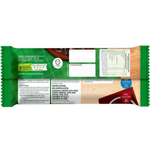 Cobertura de chocolate ao leite zero - Vitao - 01 un