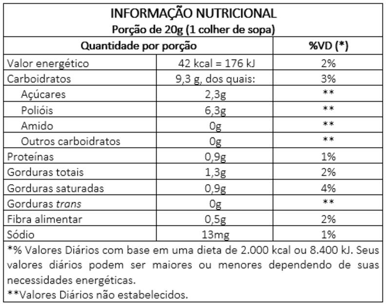 Cocada c/ ameixa zero - Vitao - 01 un