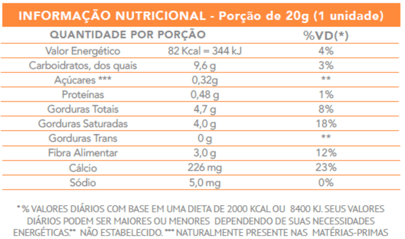 Cocada zero - Flormel - cx c/ 24 un.