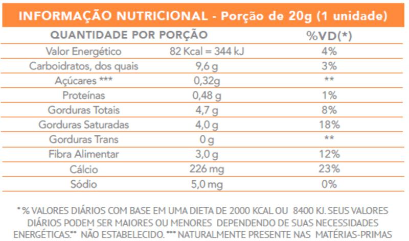 Cocada zero - Flormel - unidade