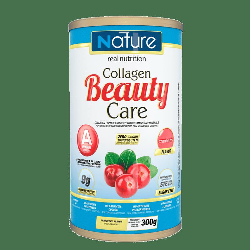 Colágeno beauty care sabor cranberry linha nature 300 g - Nutrata - 01 un