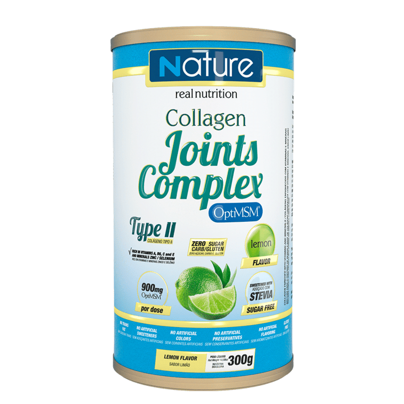 Colágeno joints complex sabor limão linha nature 300 g - Nutrata - 01 un
