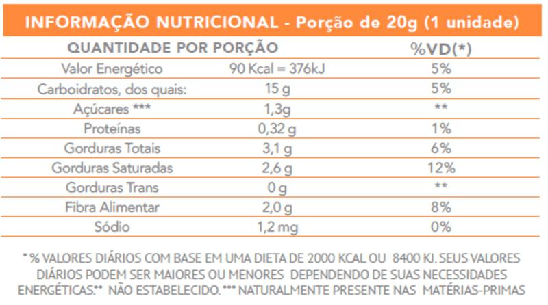 Doce de coco c/ abacaxi zero - Flormel - cx c/ 24 un.