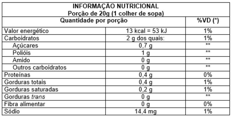 Doce de leite c/ ameixa zero - Vitao - 01 un