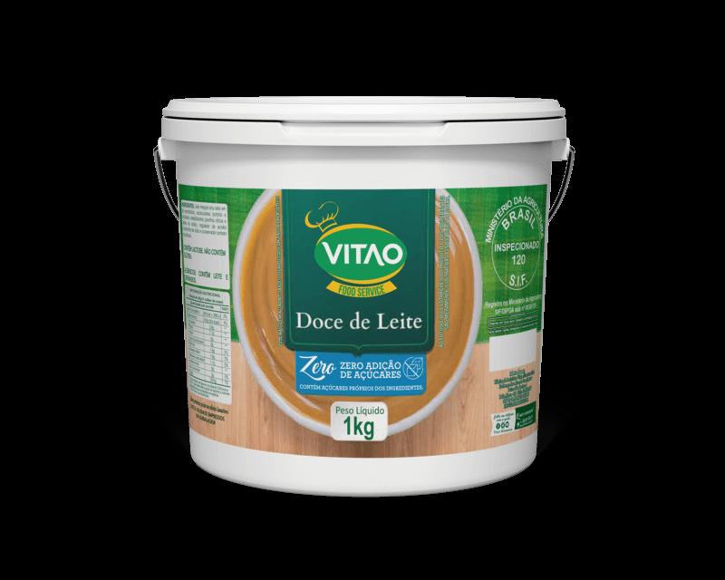 Doce de leite zero 1 kg - Vitao - 01 un