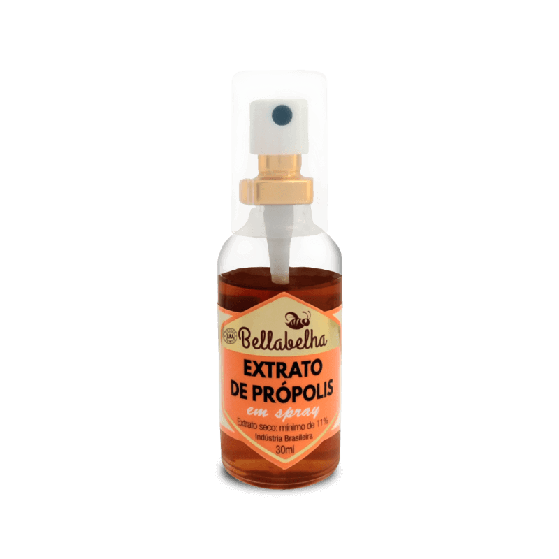 Extrato de própolis verde 11% seco spray 30 ml - Bellabelha - un