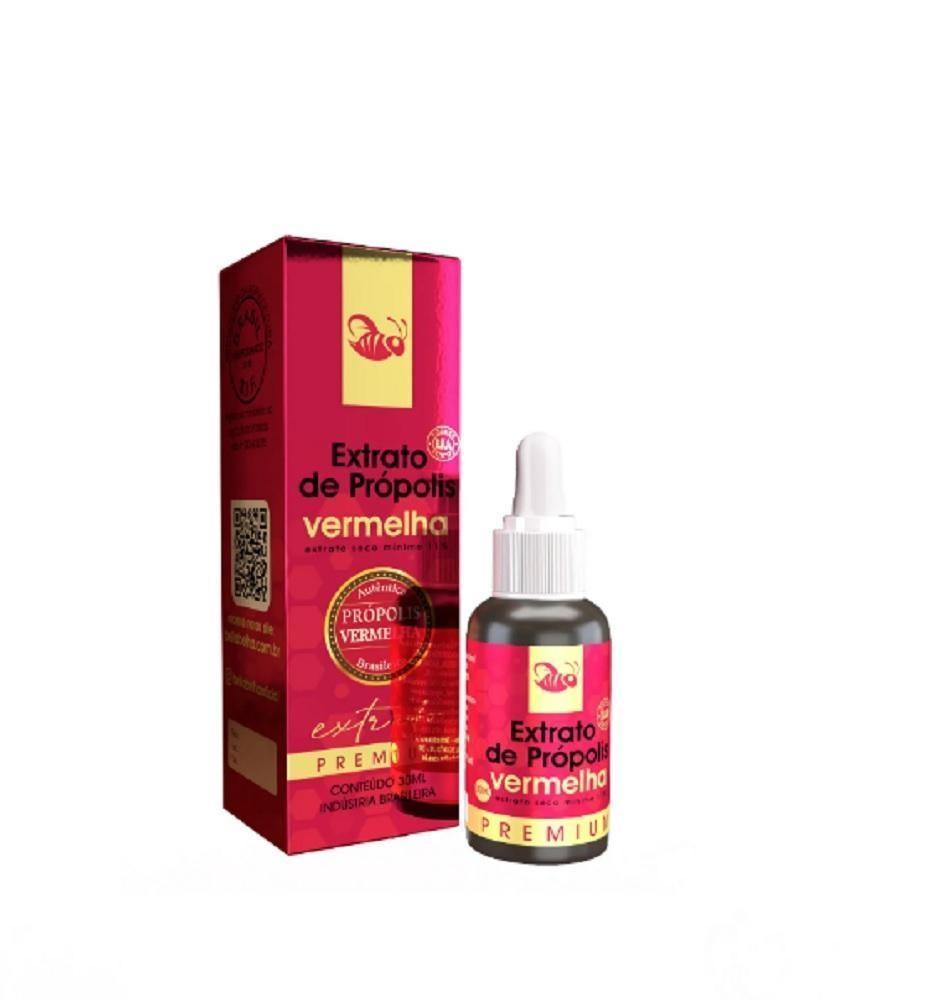 Extrato de própolis veremelha 11% seco gotas 30 ml - Bellabelha - un