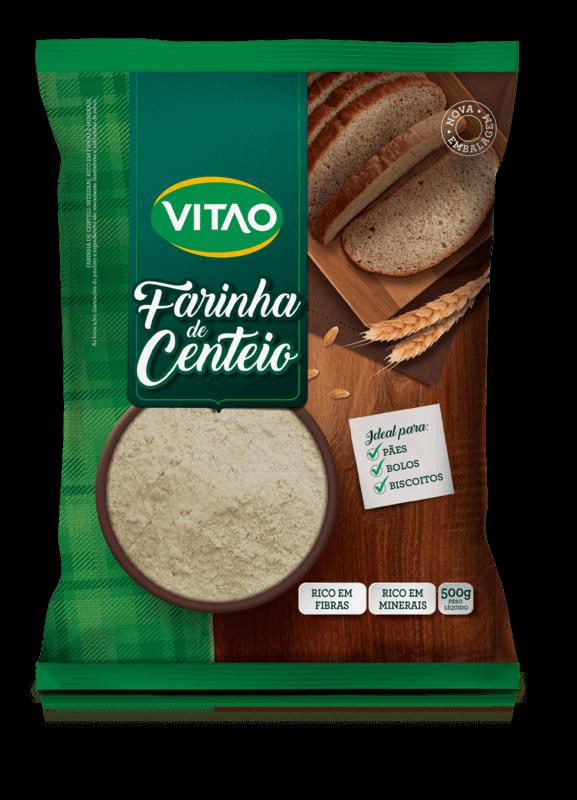 Farinha de centeio - Vitao - 01 un