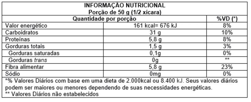 Farinha de trigo sarraceno integral s/ glúten - Vitao - 01 un