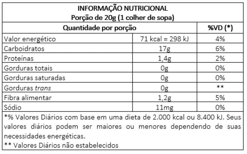 Fécula de batata s/ glúten - Vitao - 01 un