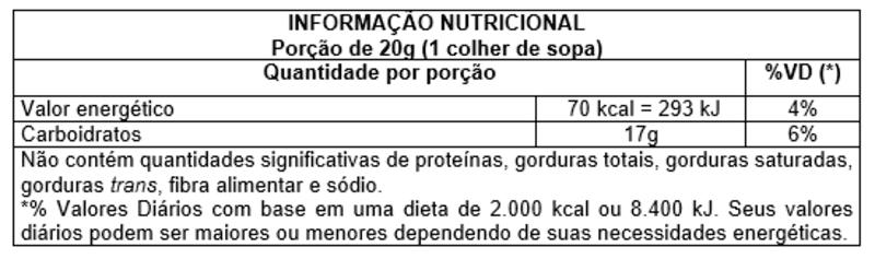 Fécula de mandioca s/ glúten 09 kg - Vitao - 01 un