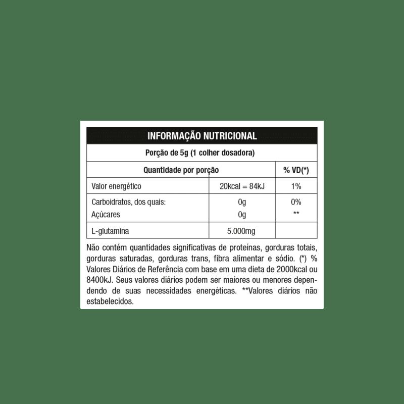 Glutamina 100% imuno 300 g - Nutrata - 01 un