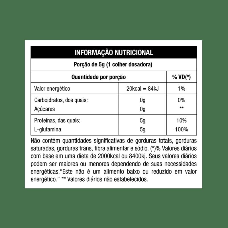 Glutamina up imuno day 300 g - Nutrata - 01 un
