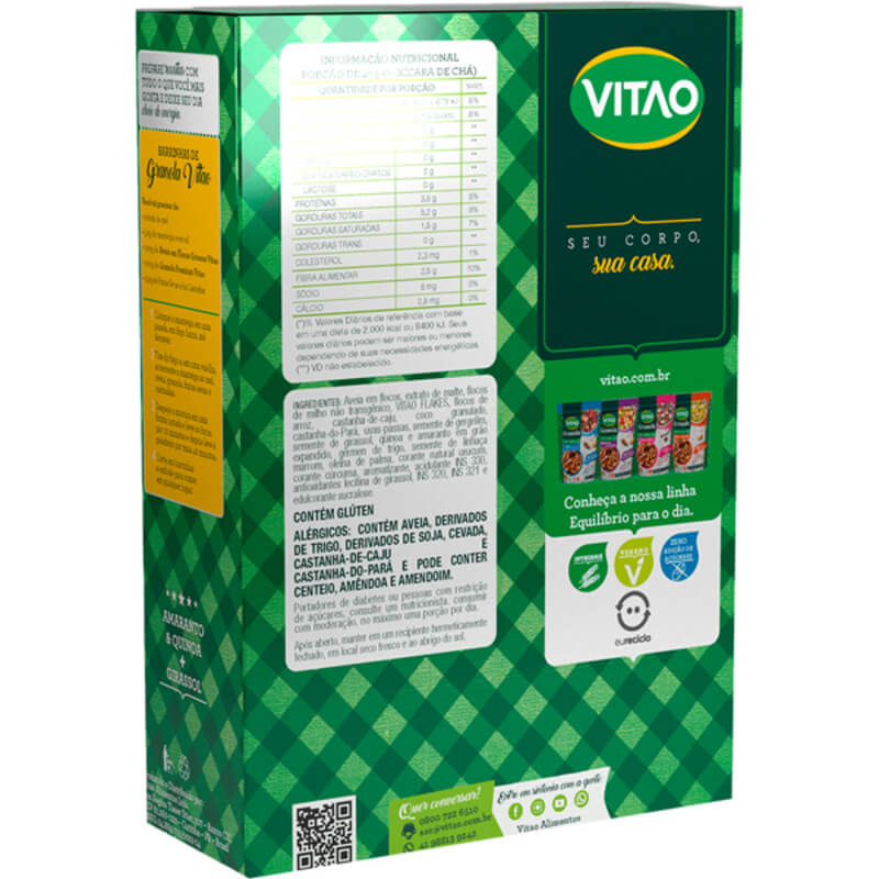 Granola premium - Vitao - 01 un