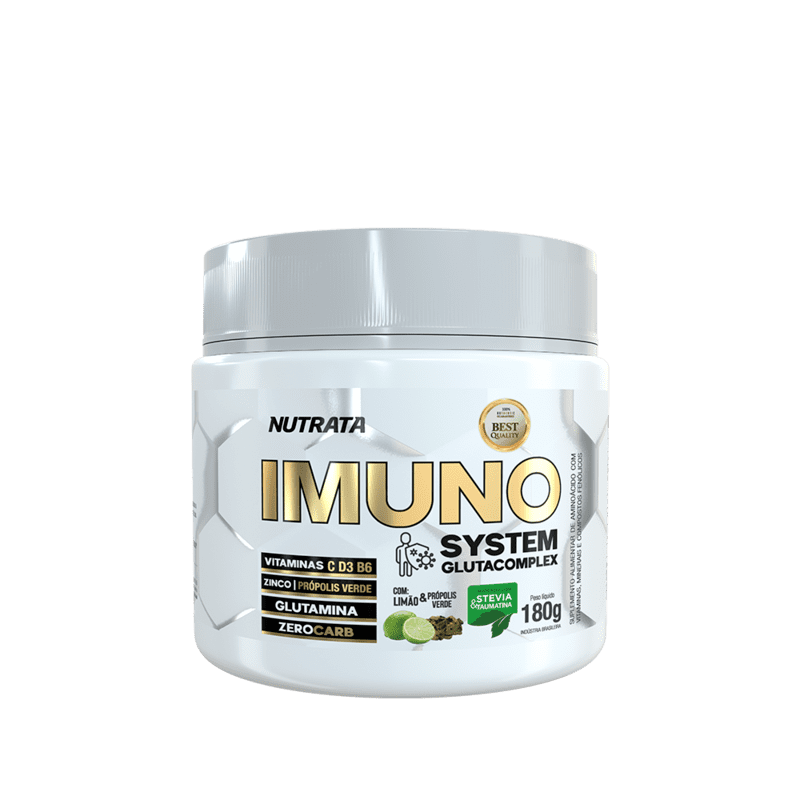 Glutamina imuno system glutacomplex 180 g - Nutrata - 01 un