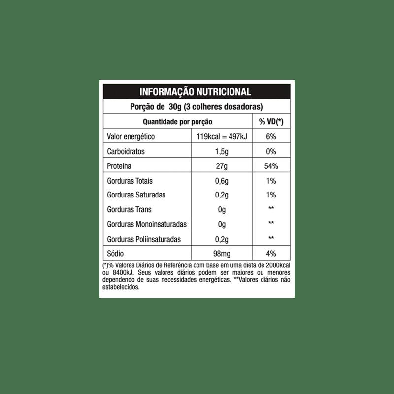 Whey iso clean protein linha nature 420 g - Nutrata - 01 un
