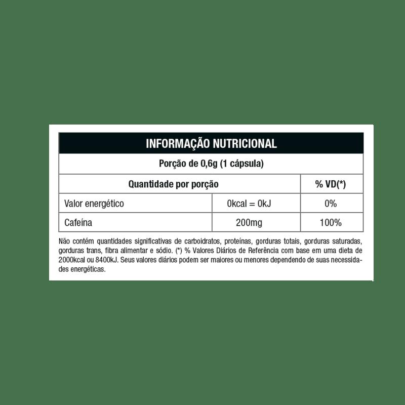 Cafeína em cápsula lipostar linha star - Nutrata - 01 un