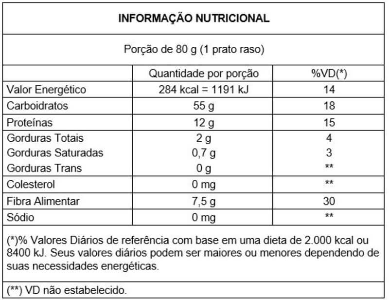 Macarrão integral tipo spaguetti 500 g Vitao - 01 un