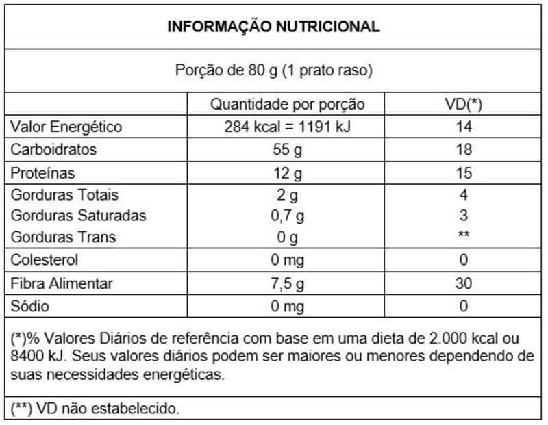 Macarrão integral tipo tornilho 500 g - Vitao - 01 un