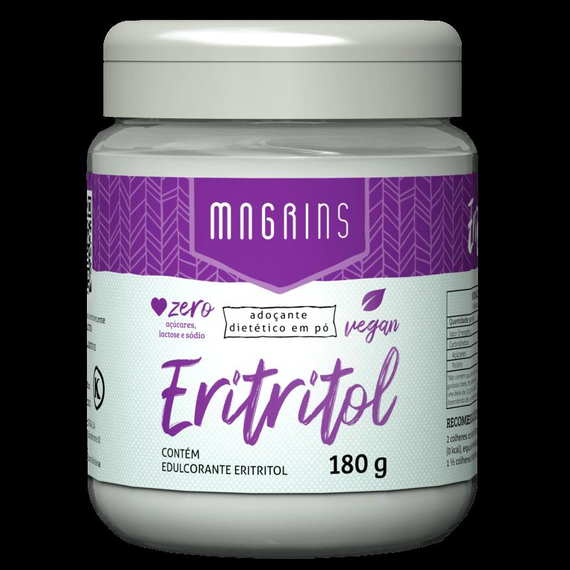 Adoçante dietético em pó magrins eritritol 180g - Stevia Soul - unidade
