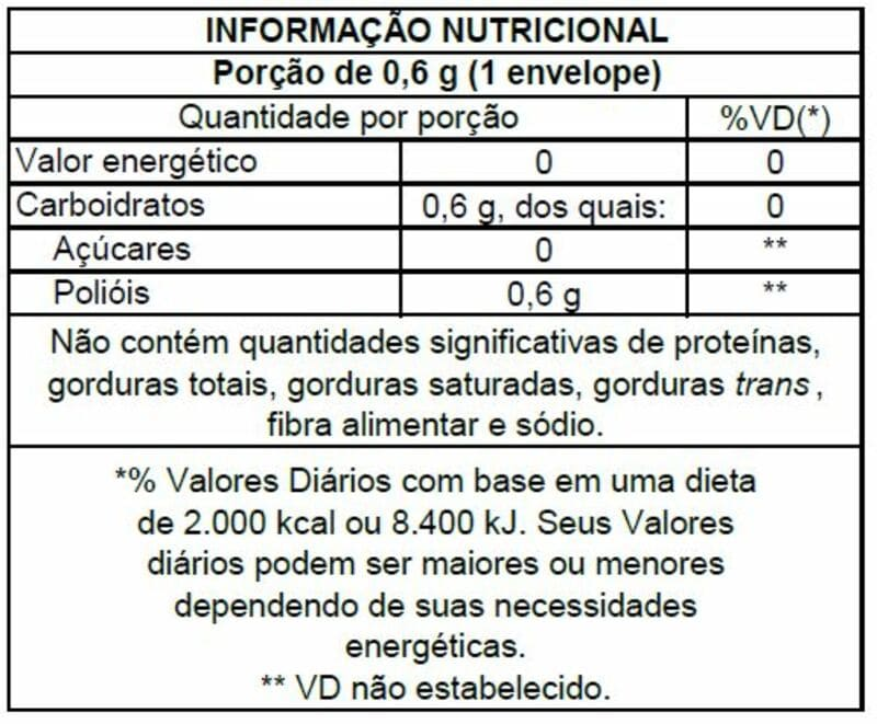 Adoçante xilitol magrins líquido 65 ml - Stevita - 01 un