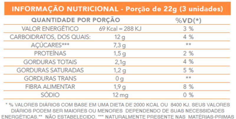 Mini bombom ao leite c/ banana zero - Flormel - 01 pouch