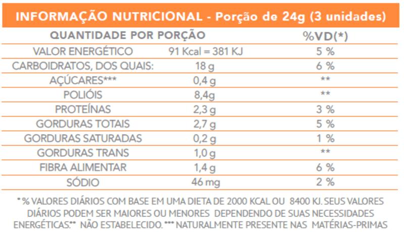 Mini bombom ao leite crocante c/ caramelo zero - Flormel - 01 pouch