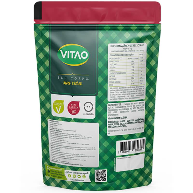 Mix para bolo s/ glúten sabor chocolate - Vitao - 01 un