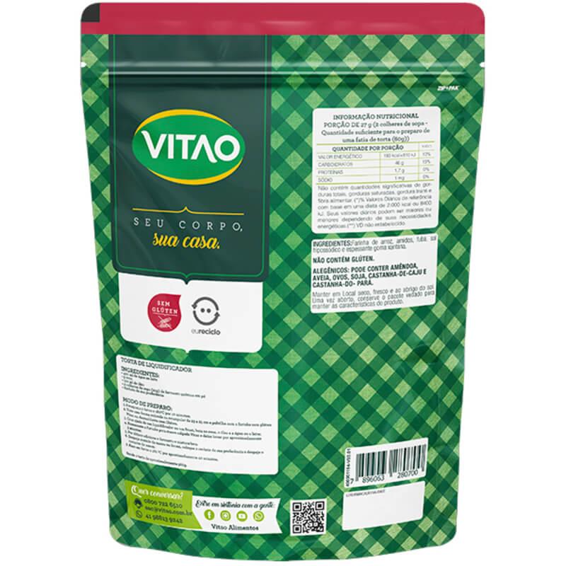 Mix para massa salgada s/ glúten - Vitao - 01 un