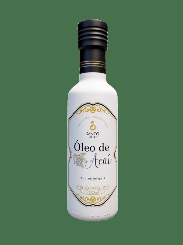 Óleo de açaí 200 ml - Santo Óleo - 01 un