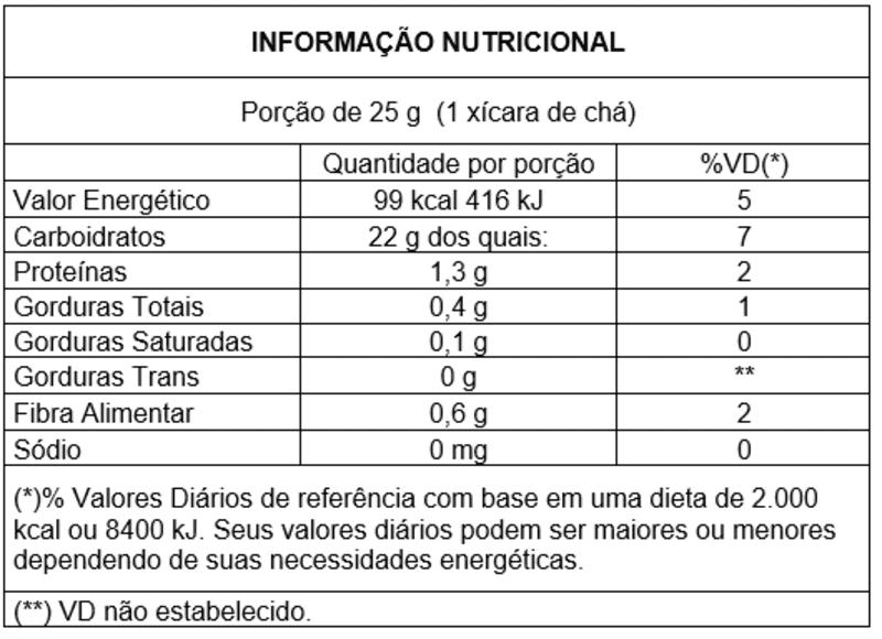 Pipoca de arroz doce integral - Vitao - 01 un