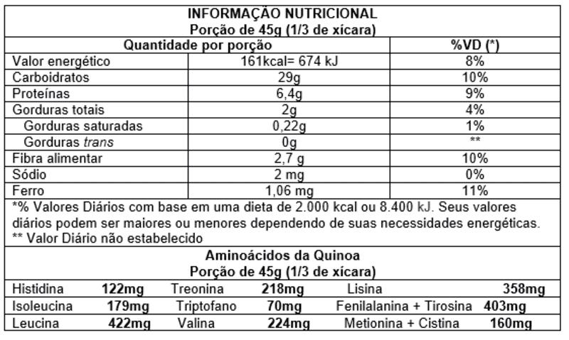 Quinoa em flocos - Vitao - 01 un