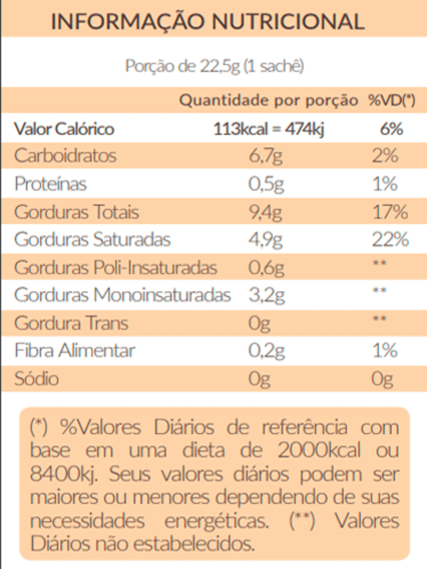 Café vegano solúvel cérebro turbinado - Santo Óleo - 01 cx c/ 10 sachês