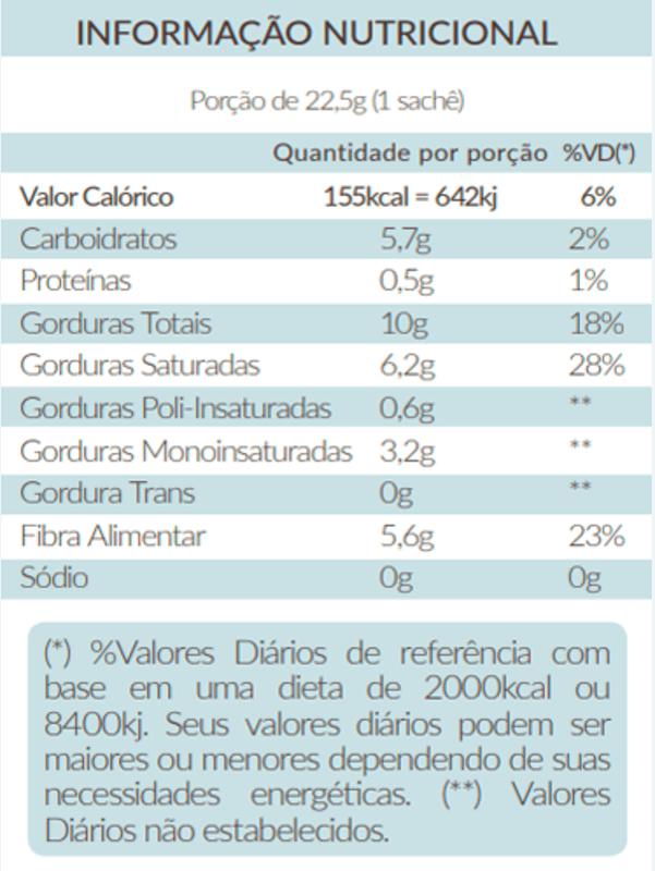 Café vegano solúvel vibe sossegada - Santo Óleo - 01 cx c/ 10 sachês